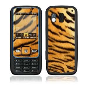Tiger Skin Decorative Skin Cover Decal Sticker for Samsung Rant