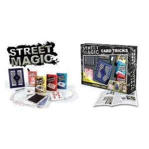 BRIGHT PRODUCTS STREET MAGIC CARD TRICKS Toys & Games