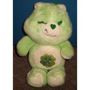 1984 Kenner Care Bears 13 Plush Good Luck Bear