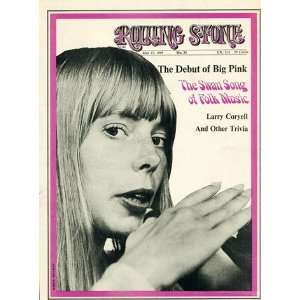 Joni Mitchell, 1969 Rolling Stone Cover Poster by Baron