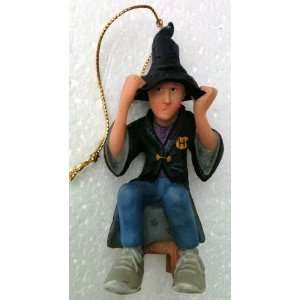 HARRY POTTER Kurt Adler Christmas Ornament RON & SORTING HAT 4 Tall