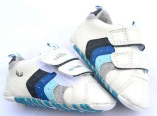 White new infants toddler baby boy walking shoes size 2 3 4