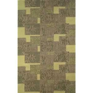 Indoor/Outdoor Hand Tufted Area Rug Bamboo Box 8 Square