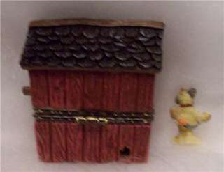 Boyds Treasure Box Lilians Lovenest with Finch McNibble is new in box