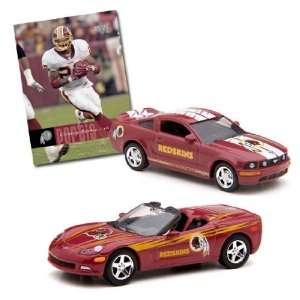 NFL Corvette & Mustang GT with Clinton Portis Card
