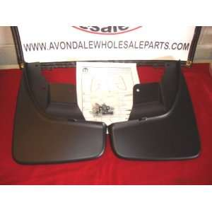 Jeep Grand Cherokee 2011 2012 FRONT & REAR Splash Guards
