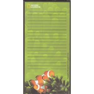 National Geographic Magnetic Refrigerator Grocery List To