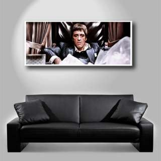 SCARFACE AL PACINO dvd home theater painting CANVAS ART GICLEE PRINT