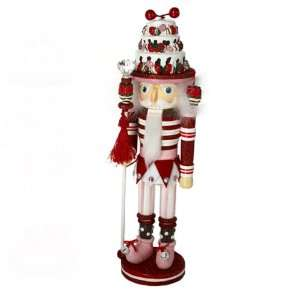 Hollywood Nutcrackers Kurt Adler 15 Inch Hollywood Red Strawberry Cake