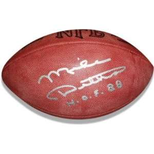 Mike Ditka Autographed Wilson NFL Football with HOF88