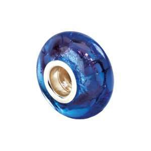 Kera Silver Blue & Purple Murano Glass Bead/Sterling Silver Jewelry