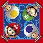 Super Mario Bros Wii Party Napkins x 16