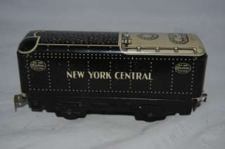 Vintage Marx O Scale tin New York Central Rivet Tender