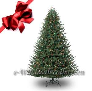 FT PRE LIT MULTI COLOR FULL ARTIFICIAL X MAS TREE 6