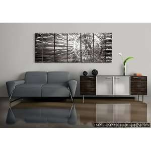Abstract Metal Wall Art Painting Decor By Jon Allen