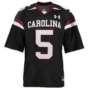 Under Armour South Carolina Gamecocks #5 Black Replica