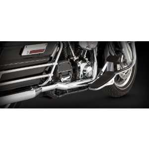 Chrome Dresser Duals Head Pipes for Harley Davidson Touring 1995 08