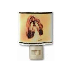 Shih Tzu Dog Dogs Ceramic Nightlight Night Light