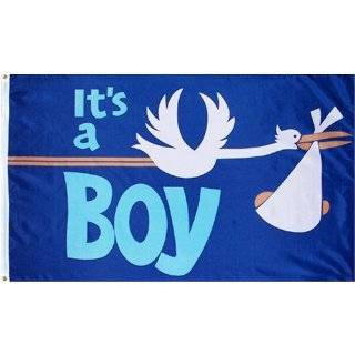 Die Cut Stork, Baby Announcement Yard Sign (Light Skin Toned Baby