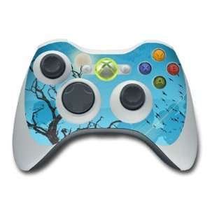 Winter Sky Design Skin Decal Sticker for the Xbox 360