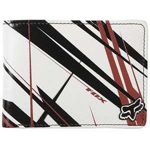 Fox Racing Shards Wallet     /White Automotive