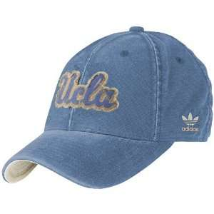 UCLA Bruins Light Blue Distressed Slope Flex Hat