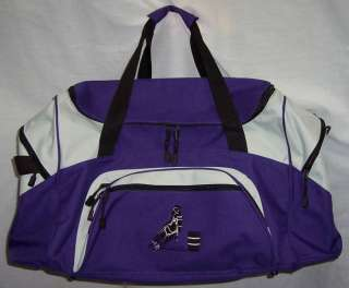 Barrel Racing Racer duffle bag horse rodeo PURPLE NEW