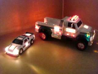 Hess Gasoline 2011 Edition Toy Truck And Race Car SOLD OUT Collectors