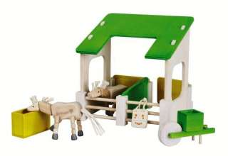 EverEarth Barn Stable Horses Set WOODEN CONSTRUCTION BRAND NEW SEALED