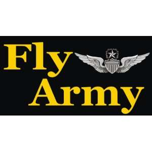 US Army Fly Army Master Aviator Decal Sticker 3.8 6 Pack