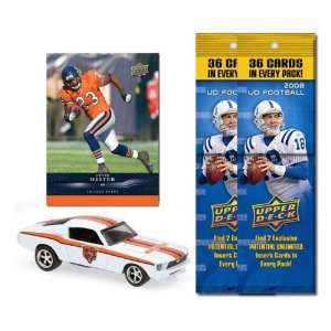 Chicago Bears 1967 Ford Mustang Fastback Die Cast with Devin Hester