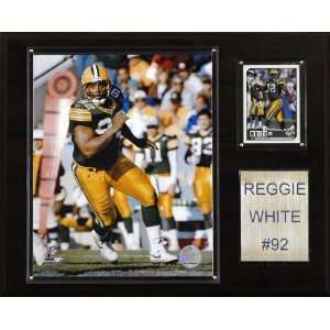 NFL Reggie White Green Bay Packers Player Plaque Sports