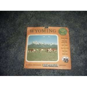 Wyoming View Master Reels SAWYERS Books