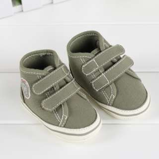US New Baby Infant Toddler Boys Kids Cute Casual Crib Shoes Sneakers 0