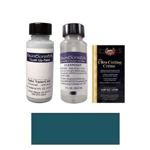 Oz. Ocean Blue Metallic Paint Bottle Kit for 2000 Porsche All Models