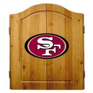 Imperial 20 1005 San Francisco 49ers Complete Dart Cabinet