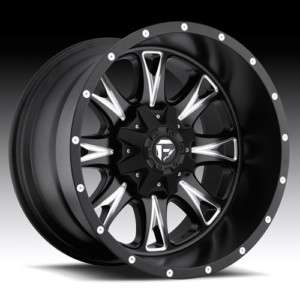 20 FUEL OFFROAD Throttle Wheel SET XD Black 20x10 RIMS FORD CHEVY