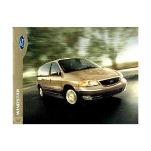 2003 FORD WINDSTAR Sales Brochure Literature Book Piece