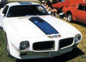 1970   72 Pontiac Trans Am Blue Decal Kit Complete