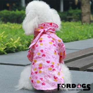 Pet Dog Clothes Puppy Fasion Royal Princess Pink Shirt