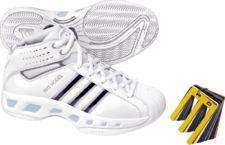 ADIDAS TEAM COLOR WOMENS BASKETBALL SHOE WHITE SILVER