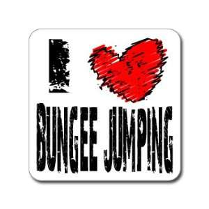 I Love Heart BUNGEE JUMPING   Window Bumper Laptop Sticker