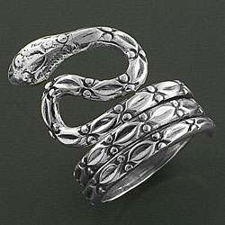 Sterling Silver Dancing Serpent Ring (India)