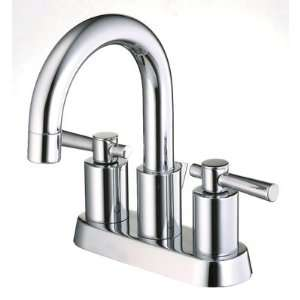 Ulm Centerset Bathroom Sink Faucet with Metal Lever Handles Home