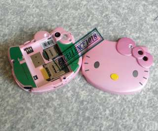 SCREEN PINK HELLO KITTY CELL PHONE CAMERA  MP4 WHITE C90