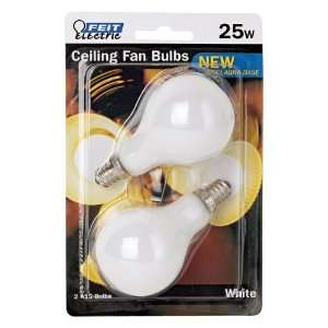 Watt Candelabra Base White Ceiling Fan Light Bulbs