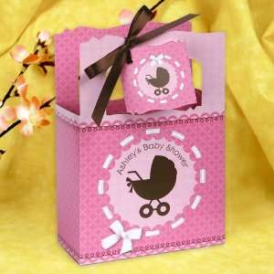 Baby Carriage   Classic Personalized Baby Shower Favor Boxes Toys