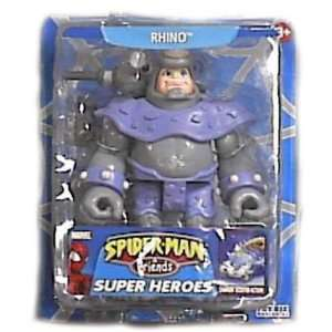 Marvel Spider man & Friends Rhino Action Figure Toys & Games