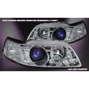 Ford Mustang Headlights Euro Chrome GT Pro Headlights 1999