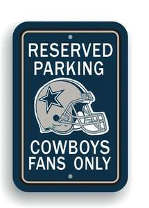 RESERVED PARKING FANS ONLY Signs SET OF 2 Mix or Match House Divided